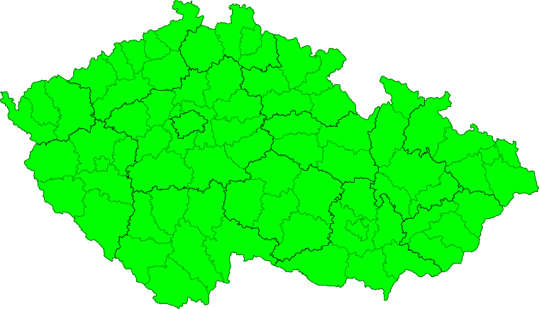 Aktuelle Unwetterwarnungen Česká republika